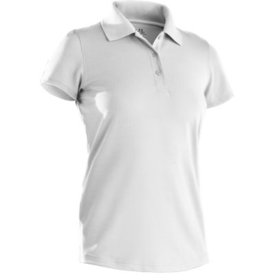 under armour core solid ss golf poloshirt women kurzarm. Black Bedroom Furniture Sets. Home Design Ideas